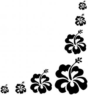 Hibiscus Flower Corner