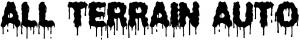 All Terrain Auto Muddy Off Road car-window-decals-stickers