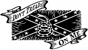Dont Tread On Me Gadsden Rebel Flag Country car-window-decals-stickers