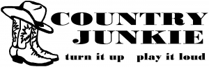 Country Junkie Turn It Up Country car-window-decals-stickers