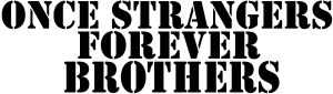 Once Strangers Forever Brothers Military car-window-decals-stickers