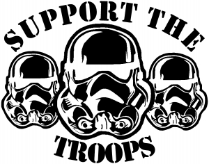Star Wars Support The Storm Troopers