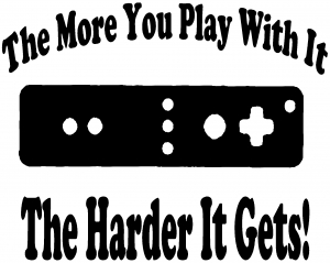 The More You Play With It Wii Video Games