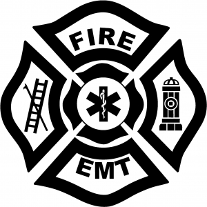 PICK COLOR SIZE Tribal Firefighter Vinyl Decal Window Glass Sticker