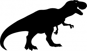 T Rex Funny car-window-decals-stickers
