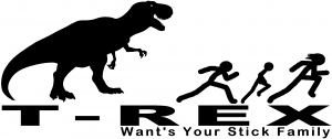 T Rex Wants Your Stick Family