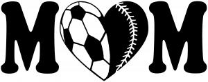 Soccer Softball Mom With Heart