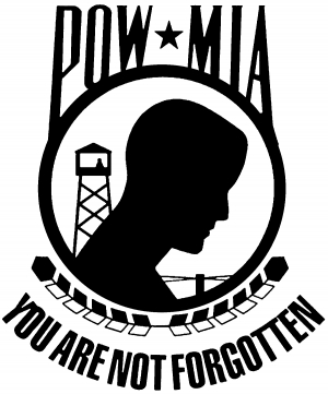 Pow Mia Not Forgotten Closed Car Or Truck Window Decal