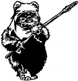 Star Wars Ewok Wicket