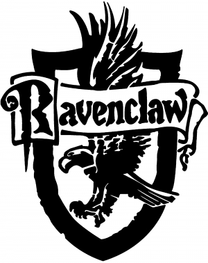 Harry Potter Ravenclaw Crest Car Or Truck Window Decal