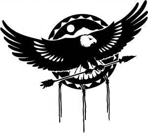 Dream Catcher Eagle Holding Arrow
