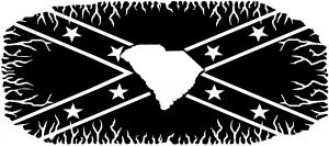 Confederate Rebel Battle Flag South Carolina