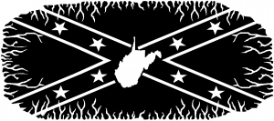 Confederate Rebel Battle Flag Virginia
