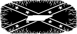 Confederate Rebel Battle Flag Tennessee