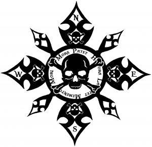 Skull Compass Death is Clear Hour is Unknown Remember you will Die