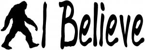 I Believe BigFoot