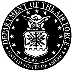 department of the air force seal car or truck window decal sticker rh raddezigns com department of the air force seal black and white USAF Seal