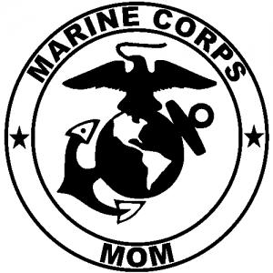 Marine Corps Mom Seal