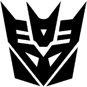 Transformers Decepticon Symbol Logo