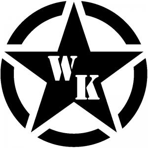 Military Jeep WK Segmented Star