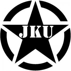 Military Jeep JKU Segmented Army Star