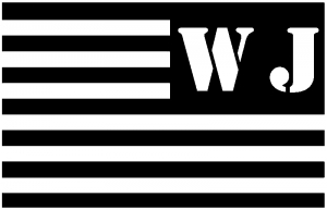 Jeep WJ American USA Flag Left Off Road car-window-decals-stickers