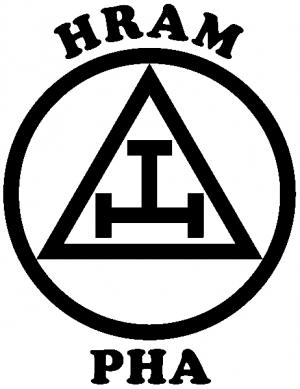 York Rite Emblem HRAM PHA Other car-window-decals-stickers
