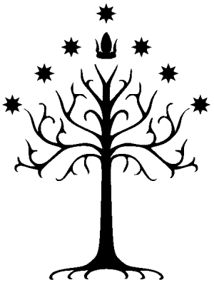 White Tree of Gondor Lord of the Rings