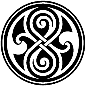 Doctor Who Time lord symbol Seal of Gallifrey