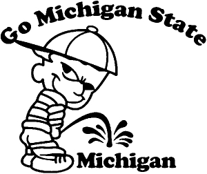Go Michigan State Pee On Michigan