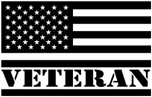 US American USA United States Flag Veteran