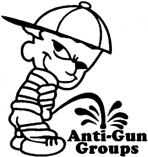 Pee On Anti Gun Groups Pro Gun