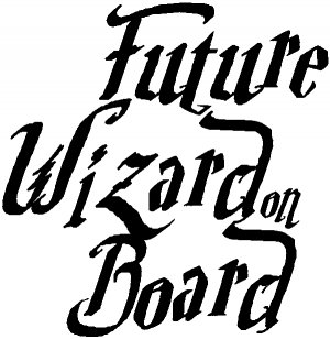 Future Wizard on Board Baby on Board Harry Potter