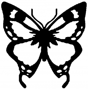 Monarch Butterfly Butterflies car-window-decals-stickers