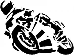 Crotch Rocket  Moto Sports car-window-decals-stickers