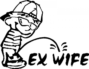 Pee on Ex-Wife
