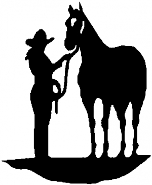 Cowgirl With Horse Car Or Truck Window Decal Sticker Rad Dezigns