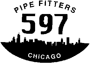 Pipe Fitters Local 597 Decal Other car-window-decals-stickers