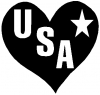 USA Heart Girlie car-window-decals-stickers
