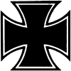 Maltese Biker Cross