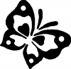 Butterfly Butterflies Car Truck Window Wall Laptop Decal Sticker