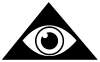 Illuminati Eye Other car-window-decals-stickers