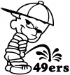 Pee On 49ers