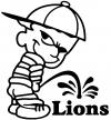 Pee On Lions