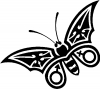 Tribal Butterfly Butterflies Car Truck Window Wall Laptop Decal Sticker