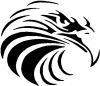 Tribal Eagle Animals car-window-decals-stickers