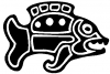 Tribal Fish Animals car-window-decals-stickers