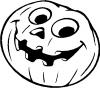Jack O Lantern Other car-window-decals-stickers