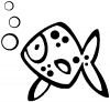 Cute Fish Animals car-window-decals-stickers
