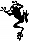 Frog Animals car-window-decals-stickers